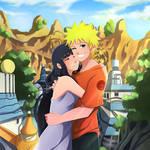 CM:Teenager Naruto and Hinata