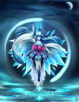 Onmyoji - Yuki Onna by xXUnicornXx