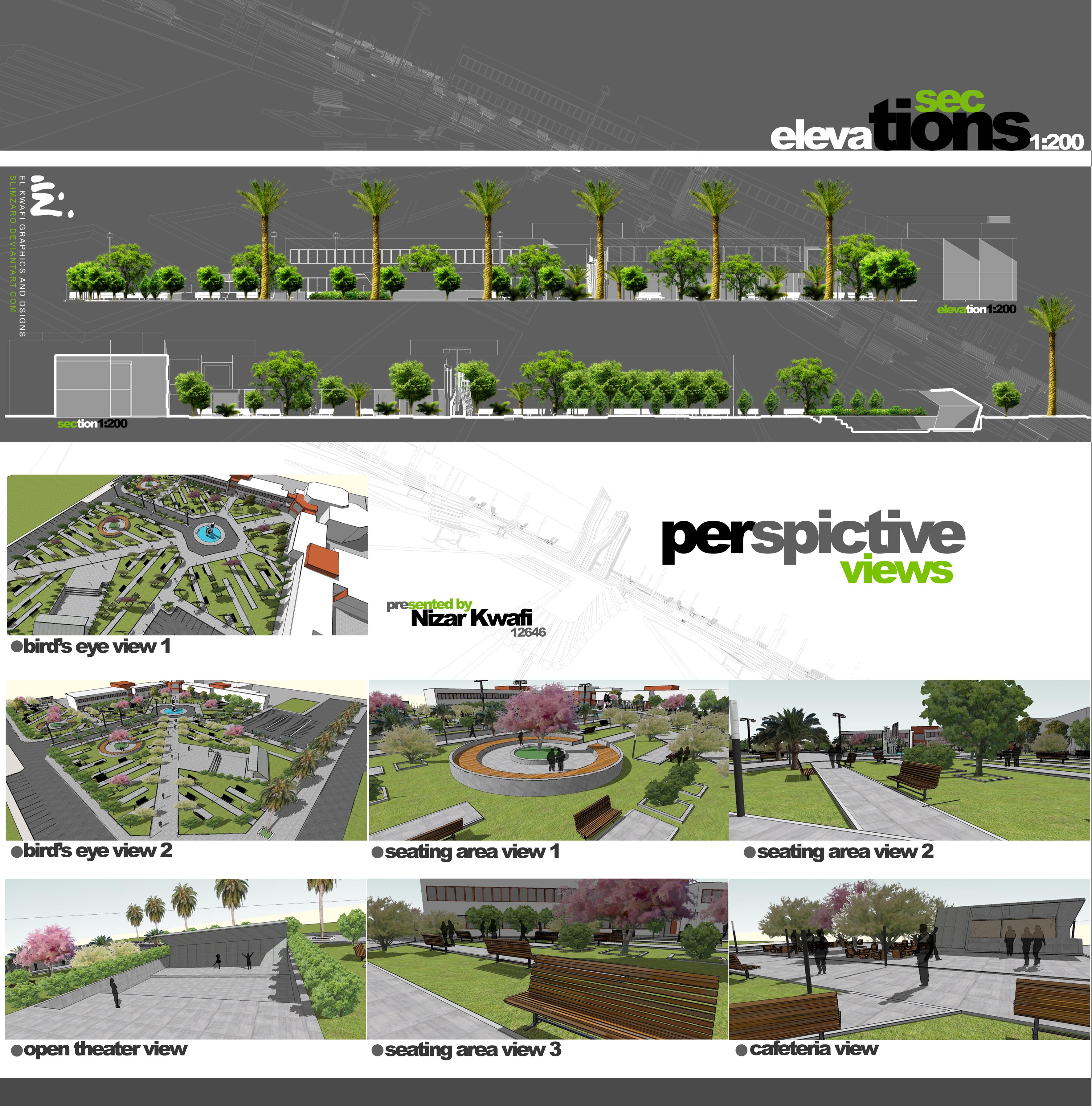 University landscape 2 by slimzaro on deviantart for Garden design university