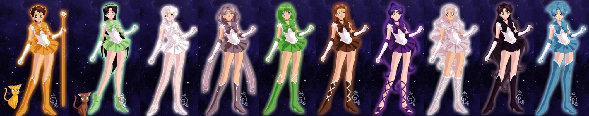 Senshi Maker - Senshi Team by TheAnomally