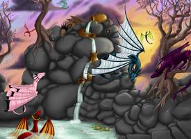Paradise of the Dragons by Evaldrynn