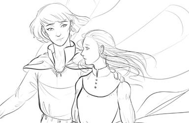 Howl's Moving Castle wip