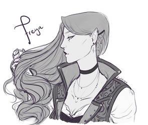 Freya - my DnD character