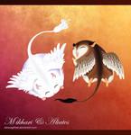 Mikhari and Aliates