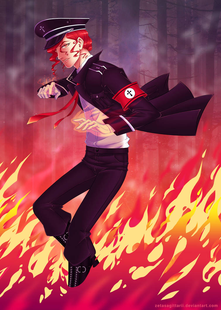 Firestorm by ZetaSagittarii