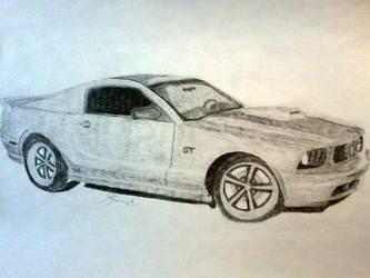 Mustang GT by dbsk8tin