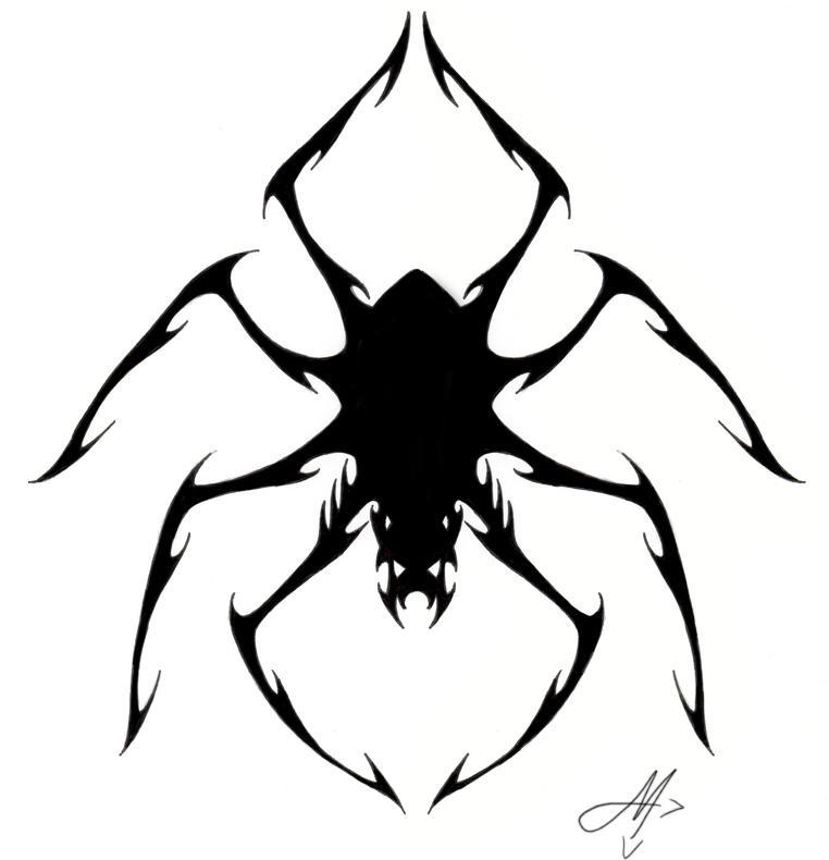 spider tattoo by valadaz on DeviantArt