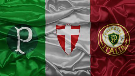 Bandeira Palestra Italia by Panico747