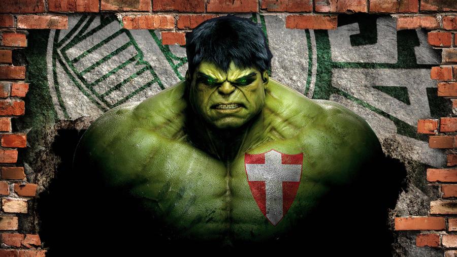 Palmeiras - Hulk 2 by Panico747
