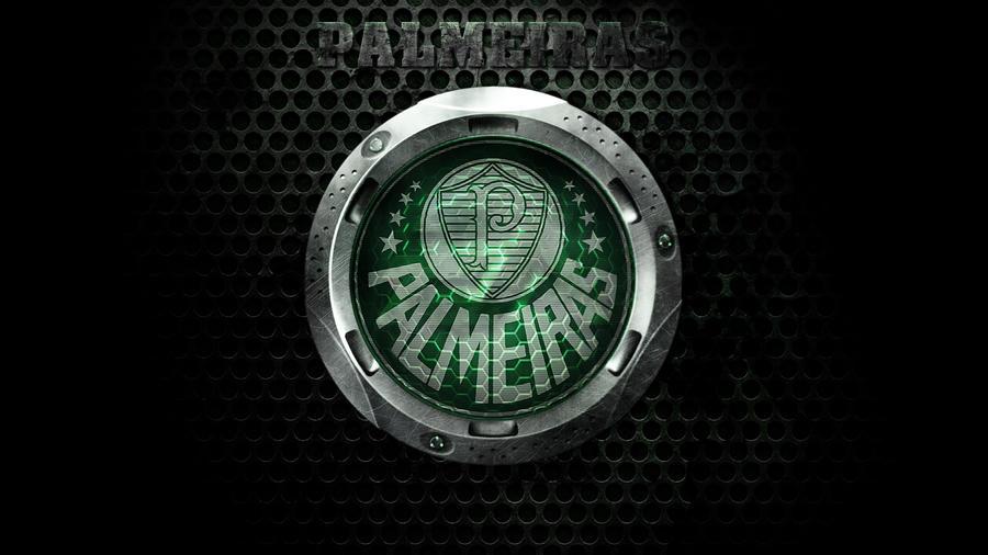 Palmeiras Metal Style by Panico747