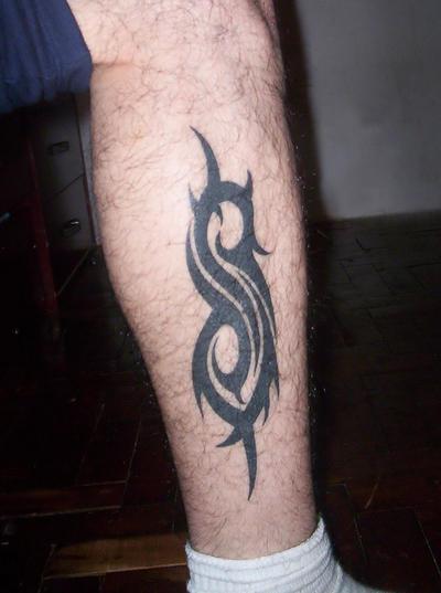 My slipknot tattoo by panico747 on deviantart for Tattoos slipknot logo