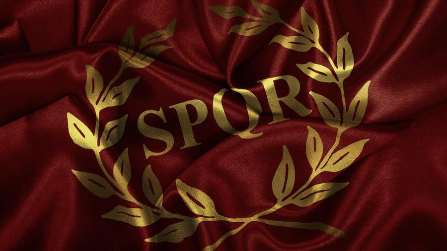 SPQR Flag by Panico747