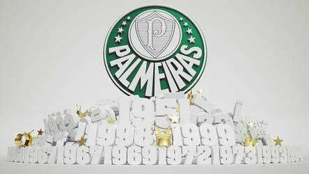 Palmeiras - Titulos Wallpaper by Panico747