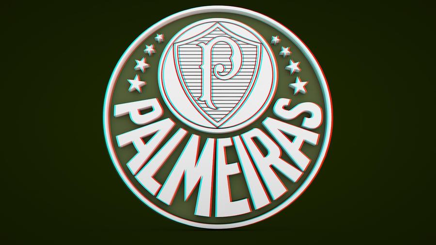 Escudos do Palmeiras em 3D Stereoscopic by Panico747