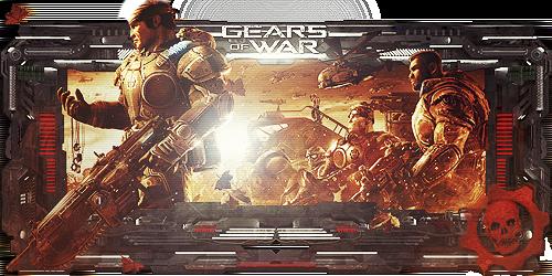 Gears of War Sign by Panico747