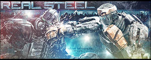 Real Steel Sign [box]