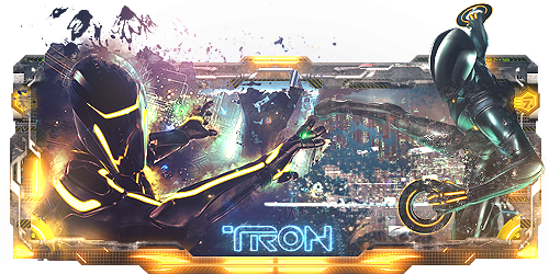 Tron Sign by Panico747