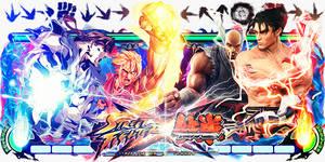 Street Fighter x Tekken Sign v2