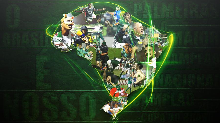 Palmeiras maior campeao nacional - CDB12 Wallpaper by Panico747