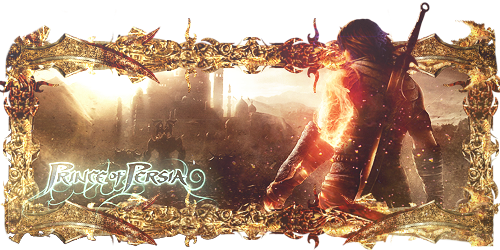 Prince Of Persia Sign by Panico747