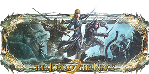 Lord of the rings Sign by Panico747