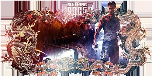 Sleeping Dogs Sign by Panico747
