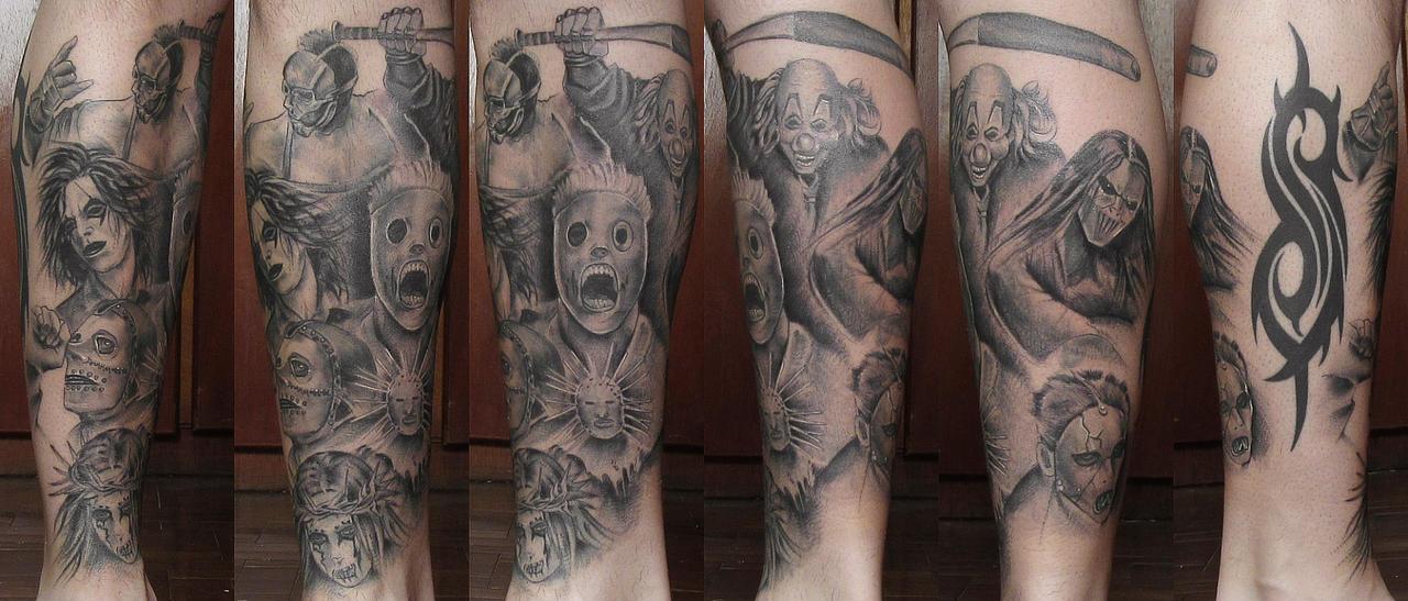 Tattoo slipknot 2 by panico747 on deviantart