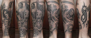 Tattoo Slipknot 2 by Panico747