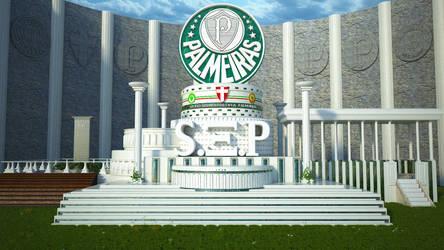 S.E. Palmeiras Templo by Panico747