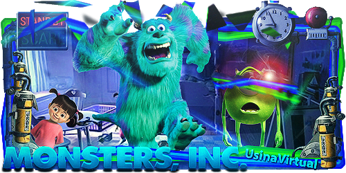 Monsters Inc Sign by Panico747