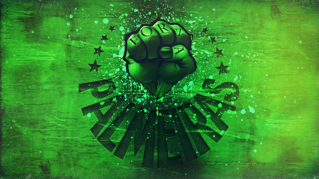 Forza Palmeiras by Panico747