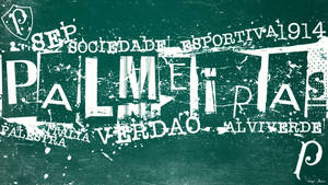 Palmeiras Tipografia by Panico747