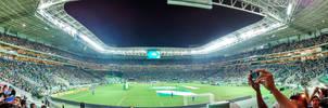 Allianz Parque Panoramica - Palmeiras by Panico747