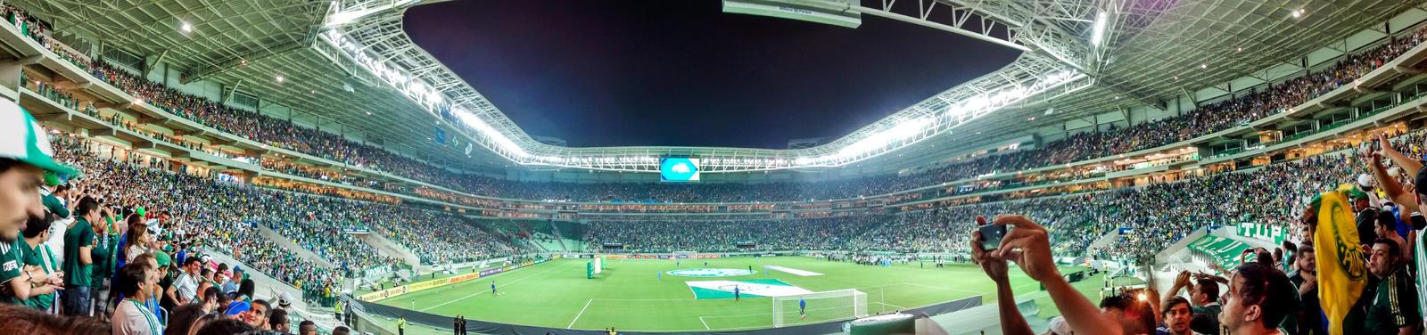 Allianz Parque Panoramica - Palmeiras