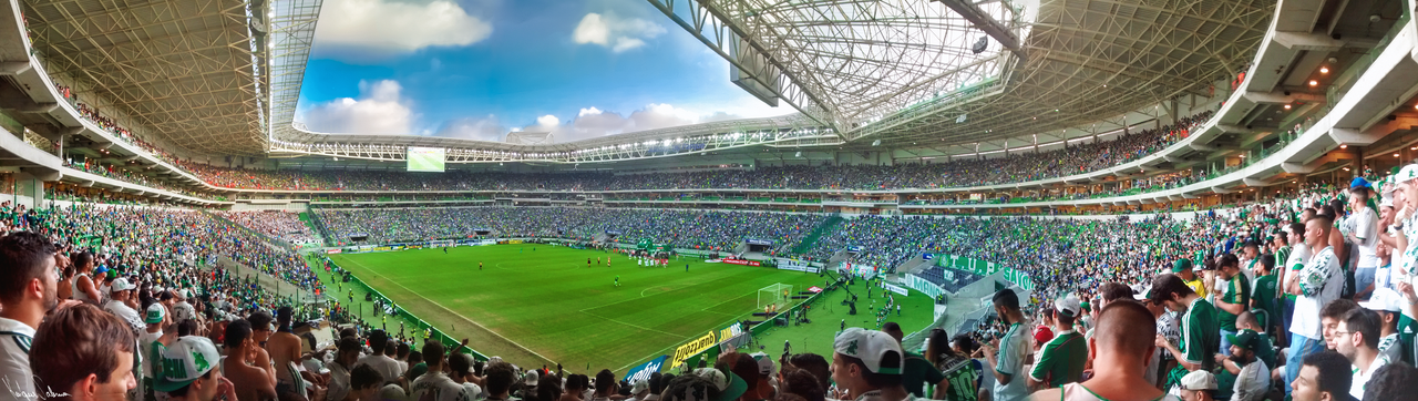 Palmeiras - Allianz Parque Panorama Final by Panico747