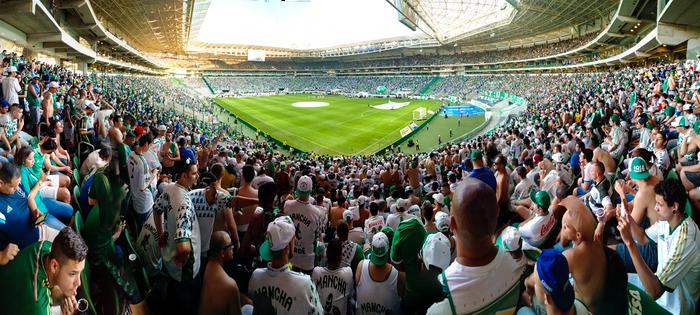 Palmeiras - Allianz Parque Panorama 22/07/2015