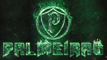 Wallpaper Palmeiras Fogo