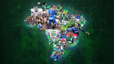 Palmeiras tricampeao da copa do Brasil