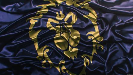 World of Warcraft - Alliance Flag by Panico747