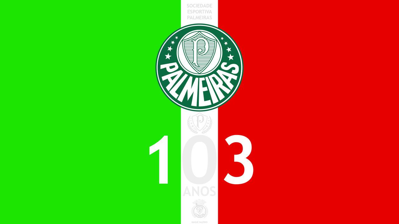 PALMEIRAS 103 ANOS by Panico747