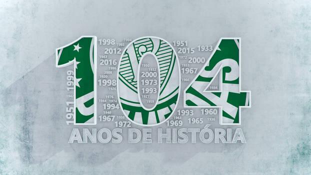 Palmeiras 104 anos