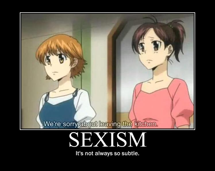Sexism In Anime By JefffWith3Fs