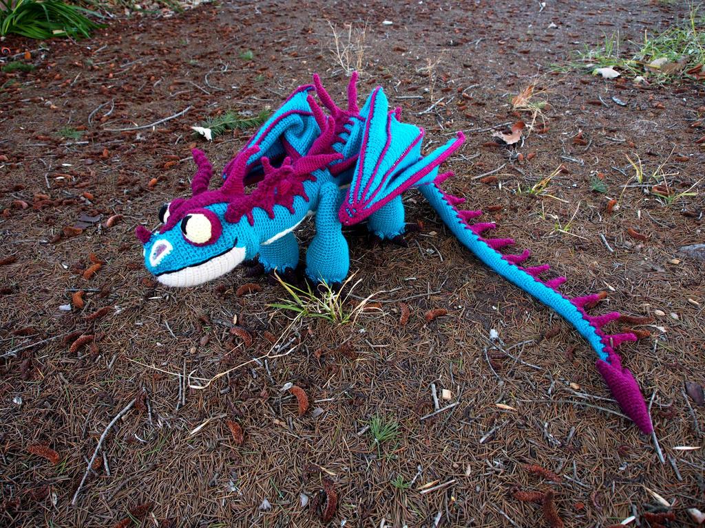 Terrible Terror crochet dragon 2 by silvergirl919 on ...