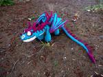 Terrible Terror crochet dragon 2