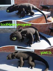 Toothless Progress 3