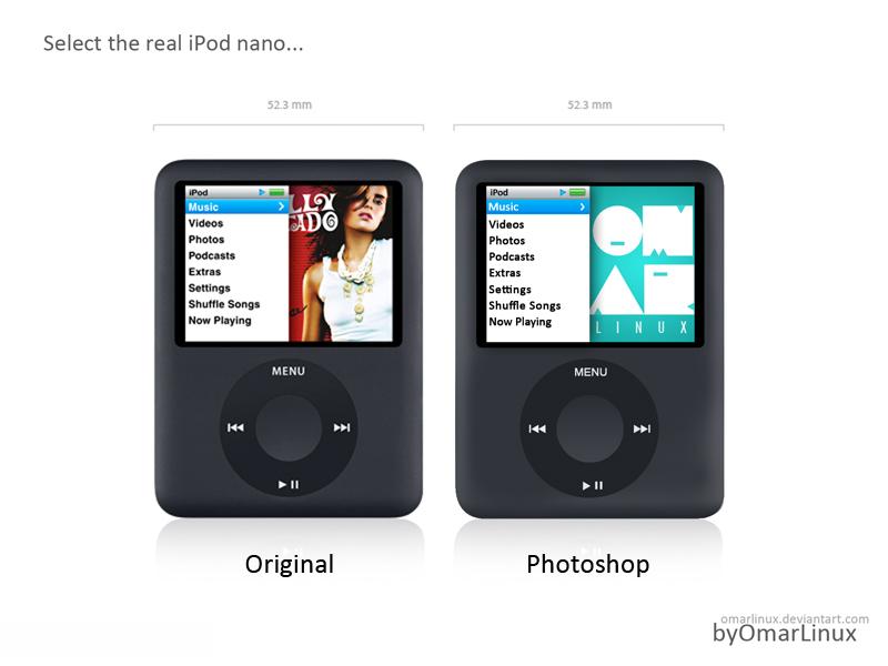 iPod nano 3rd Generation by omarlinux