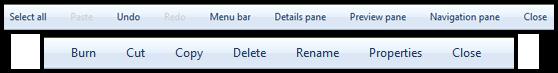 Customize Command Bar Buttons