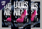 Ladies Night Flyer Template by lobaide