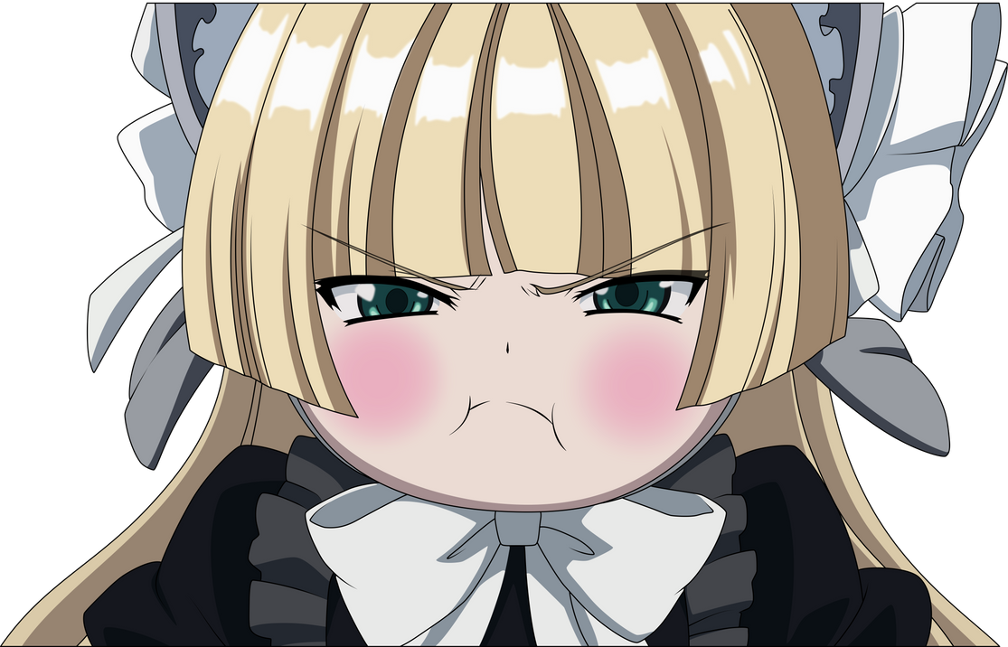 give me the best pout you ve seen in anime anime