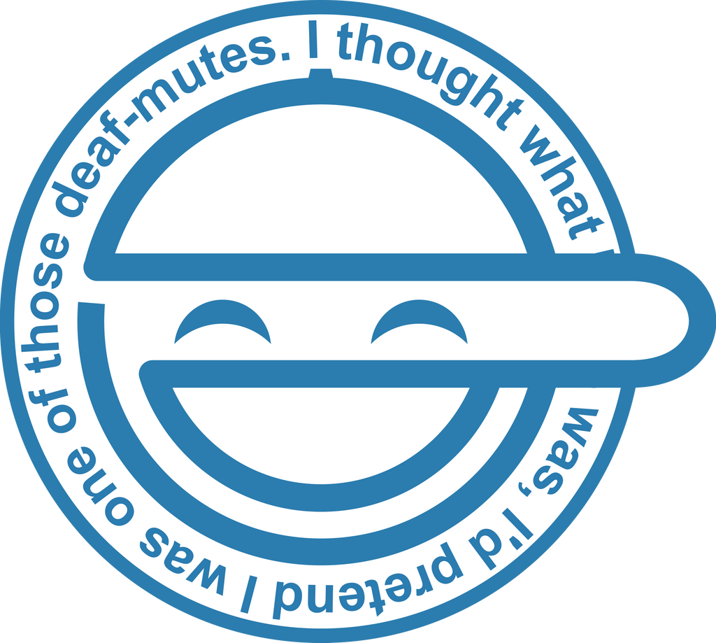 Laughing Man Logo By Aggressive Vector On Deviantart